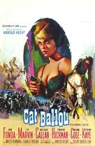 Cat Ballou - Belgian Movie Poster (xs thumbnail)