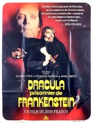 Drácula contra Frankenstein - French Movie Poster (xs thumbnail)