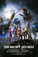 Power Rangers - Vietnamese Movie Poster (xs thumbnail)