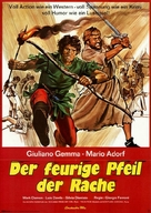 L'arciere di fuoco - German Movie Poster (xs thumbnail)