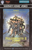 Police Academy 2: Their First Assignment - Finnish VHS movie cover (xs thumbnail)