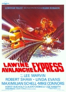Avalanche Express - Belgian Movie Poster (xs thumbnail)
