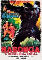 Nabonga - Italian DVD cover (xs thumbnail)