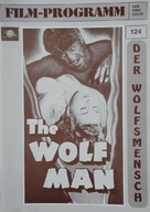 The Wolf Man - German poster (xs thumbnail)