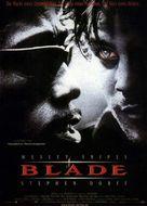 Blade - German Movie Poster (xs thumbnail)