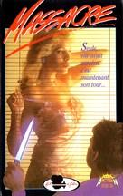 Sorority House Massacre - French VHS movie cover (xs thumbnail)