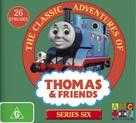 """Thomas the Tank Engine & Friends"" - Australian DVD movie cover (xs thumbnail)"