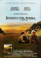 Out of Africa - German Movie Poster (xs thumbnail)