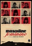 Masculin, féminin: 15 faits précis - Portuguese Movie Cover (xs thumbnail)
