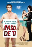 Forgetting Sarah Marshall - Spanish Movie Poster (xs thumbnail)