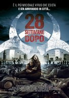 28 Weeks Later - Italian Theatrical movie poster (xs thumbnail)