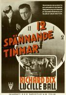 Twelve Crowded Hours - Swedish Movie Poster (xs thumbnail)