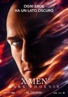 Dark Phoenix - Italian Movie Poster (xs thumbnail)