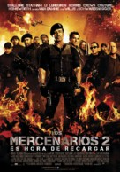 The Expendables 2 - Spanish Movie Poster (xs thumbnail)
