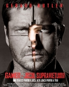 Gamer - Romanian Movie Poster (xs thumbnail)