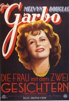 Two-Faced Woman - German Movie Poster (xs thumbnail)
