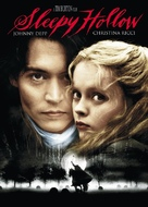 Sleepy Hollow - DVD cover (xs thumbnail)