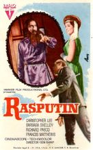 Rasputin: The Mad Monk - Spanish Movie Poster (xs thumbnail)