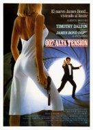 The Living Daylights - Spanish Movie Poster (xs thumbnail)