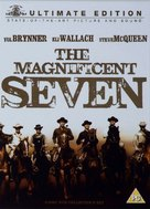 The Magnificent Seven - British DVD movie cover (xs thumbnail)