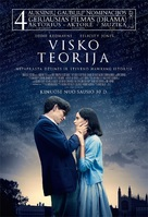 The Theory of Everything - Lithuanian Movie Poster (xs thumbnail)