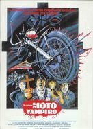 I Bought a Vampire Motorcycle - Spanish Movie Poster (xs thumbnail)