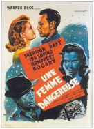 They Drive by Night - French Movie Poster (xs thumbnail)