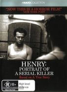 Henry: Portrait of a Serial Killer - Australian DVD movie cover (xs thumbnail)