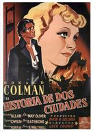 A Tale of Two Cities - Spanish Movie Poster (xs thumbnail)