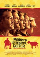 The Men Who Stare at Goats - Norwegian Movie Poster (xs thumbnail)