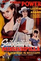 The Mississippi Gambler - Finnish Movie Poster (xs thumbnail)