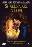 Shakespeare In Love - French DVD cover (xs thumbnail)