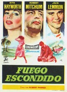 Fire Down Below - Spanish Movie Poster (xs thumbnail)