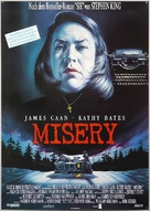 Misery - German Movie Poster (xs thumbnail)