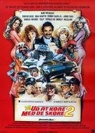 Cannonball Run 2 - Danish Movie Poster (xs thumbnail)