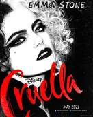 Cruella - Irish Movie Poster (xs thumbnail)