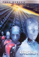 I, Robot - DVD movie cover (xs thumbnail)