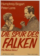 The Maltese Falcon - German Movie Poster (xs thumbnail)