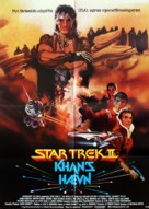 Star Trek: The Wrath Of Khan - Danish Movie Poster (xs thumbnail)