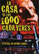House of 1000 Corpses - Spanish Movie Poster (xs thumbnail)