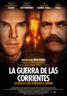 The Current War - Spanish Movie Poster (xs thumbnail)