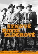 The Sons of Katie Elder - Czech DVD cover (xs thumbnail)