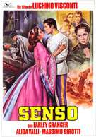 Senso - Spanish Movie Poster (xs thumbnail)
