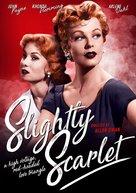 Slightly Scarlet - British Movie Cover (xs thumbnail)