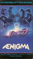 Aenigma - VHS movie cover (xs thumbnail)
