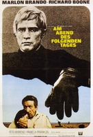The Night of the Following Day - German Movie Poster (xs thumbnail)