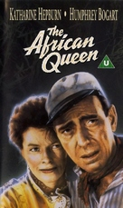 The African Queen - British VHS movie cover (xs thumbnail)