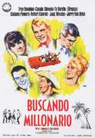 Palm Springs Weekend - Spanish Movie Poster (xs thumbnail)