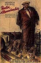 Berlin - Alexanderplatz - German Movie Poster (xs thumbnail)