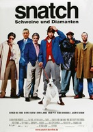 Snatch - German Movie Poster (xs thumbnail)